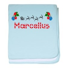 Marcellus, Christmas baby blanket