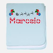 Marcelo, Christmas baby blanket