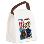 Turban Pirate and Ship Canvas Lunch Bag