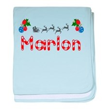 Marlon, Christmas baby blanket