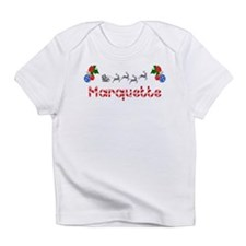 Marquette, Christmas Infant T-Shirt