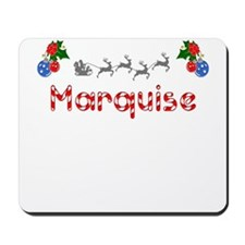 Marquise, Christmas Mousepad