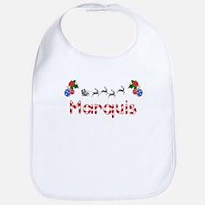 Marquis, Christmas Bib