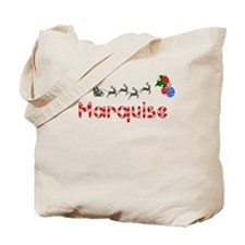 Marquise, Christmas Tote Bag