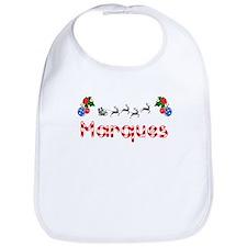 Marques, Christmas Bib