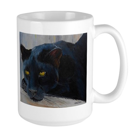 Black Cat Large Mug