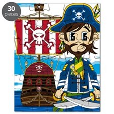 Pirate Captain and Ship Puzzle