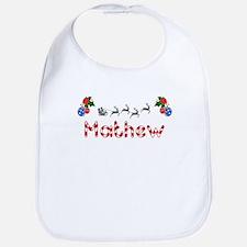 Mathew, Christmas Bib