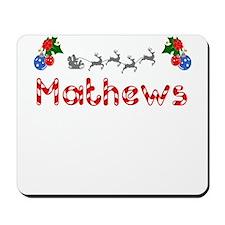 Mathews, Christmas Mousepad