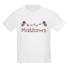 Mathews, Christmas T-Shirt