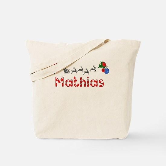 Mathias, Christmas Tote Bag