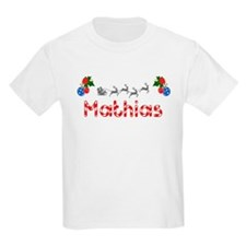 Mathias, Christmas T-Shirt