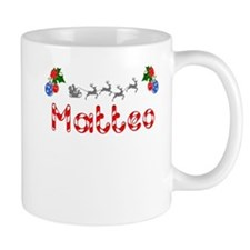 Matteo, Christmas Small Mug
