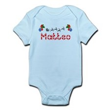 Matteo, Christmas Infant Bodysuit