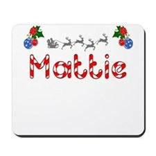 Mattie, Christmas Mousepad