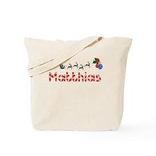 Matthias, Christmas Tote Bag