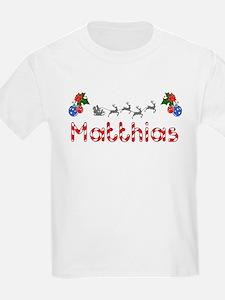Matthias, Christmas T-Shirt