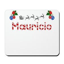 Mauricio, Christmas Mousepad