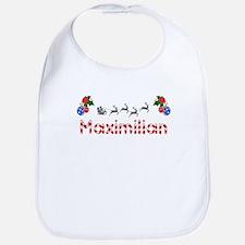 Maximilian, Christmas Bib