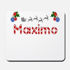 Maximo, Christmas Mousepad