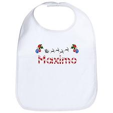 Maximo, Christmas Bib
