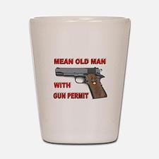 GUN PERMIT Shot Glass