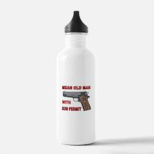 GUN PERMIT Water Bottle