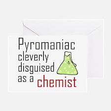 'Pyromaniac' Greeting Card