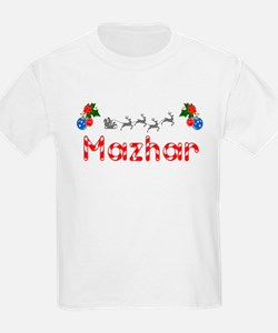 Mazhar, Christmas T-Shirt
