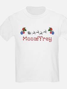 Mccaffrey, Christmas T-Shirt