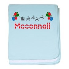 Mcconnell, Christmas baby blanket