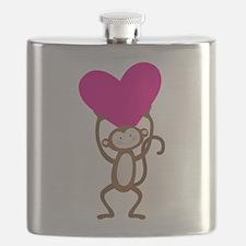 Monkey Heart Flask