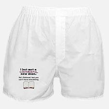 'Fictional Man' Boxer Shorts
