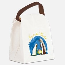 nativity scene cp.png Canvas Lunch Bag