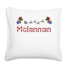 Mclennan, Christmas Square Canvas Pillow