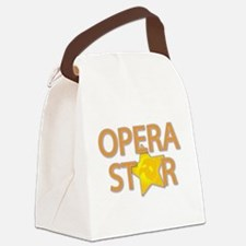 3-opera star2.png Canvas Lunch Bag