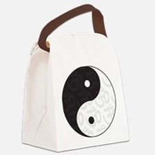 yoga_ying_yang.png Canvas Lunch Bag