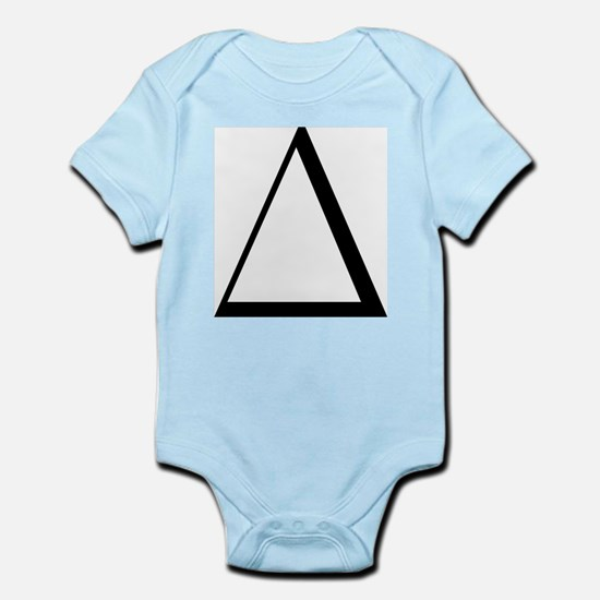 Greek Letter Delta Infant Bodysuit