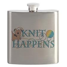 Knit Happens Flask