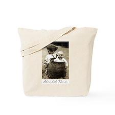 Adirondack Woman Tote Bag