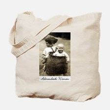Adirondack Woman Tote Bag