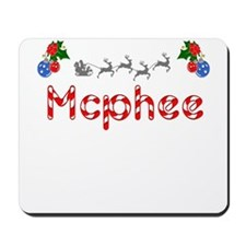 Mcphee, Christmas Mousepad