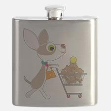 Chihuahua Shopping Flask