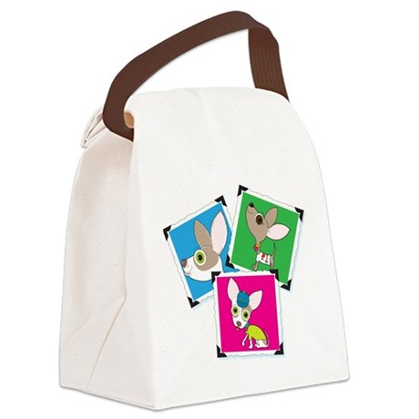 Chihuahua Photographs Canvas Lunch Bag