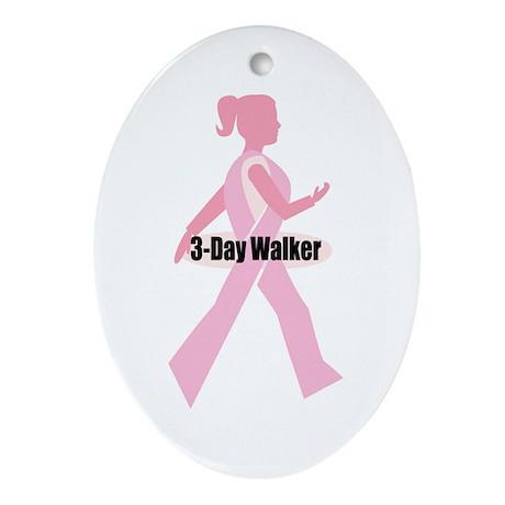3-Day Walker Oval Ornament