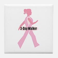 3-Day Walker Tile Coaster