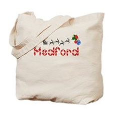 Medford, Christmas Tote Bag
