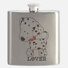 dalmation lover.jpg Flask