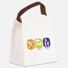 eat_sleep_karaoke.jpg Canvas Lunch Bag