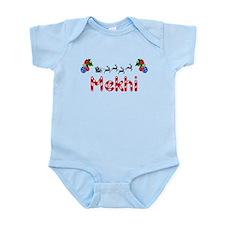 Mekhi, Christmas Infant Bodysuit